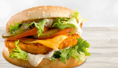 Produktbild Chicken-Burger